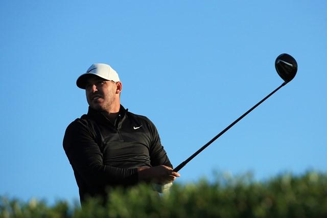 2020年 アブダビHSBCゴルフ選手権 初日 ブルックス・ケプカ 「アブダビHSBCゴルフ選手権」で復帰したケプカ(Andrew Redington/Getty Images)
