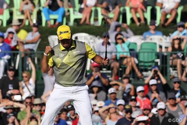 2016年 ウェイストマネジメント フェニックスオープン 最終日 松山英樹 60万人超を動員するモンスタートーナメント。松山英樹は抜群の相性を誇る