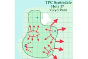 2020年 ウェイストマネジメント フェニックスオープン 事前 TPCスコッツデール18番