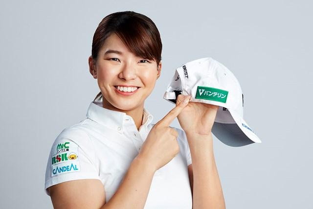 渋野日向子 興和株式会社とパフォーマンスサポート契約を結んだ渋野日向子(提供:興和株式会社)