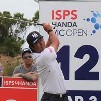 谷原秀人は首位と7打差で決勝に進んだ(提供:大会広報) 2020年 ISPS HANDA ヴィックオープン 2日目 谷原秀人