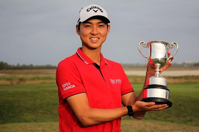 21歳のミンウ・リーが初優勝(※大会提供)