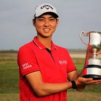 21歳のミンウ・リーが初優勝(※大会提供) 2020年 ISPS HANDA ヴィックオープン 最終日 ミンウ・リー
