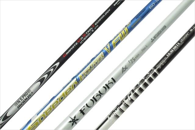GDOゴルフショップでは、商品ごとに装着できるヘッドと長さが確認できる