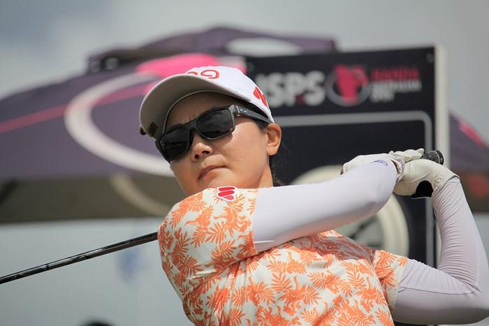 今季3戦目で初めて決勝ラウンドへ進んだ上原彩子(※大会提供) 2020年 ISPS HANDA オーストラリア女子オープン 2日目 上原彩子