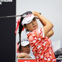 予選カットに1打足りず予選落ちとなった(※大会提供) 2020年 ISPS HANDA オーストラリア女子オープン 2日目 河本結
