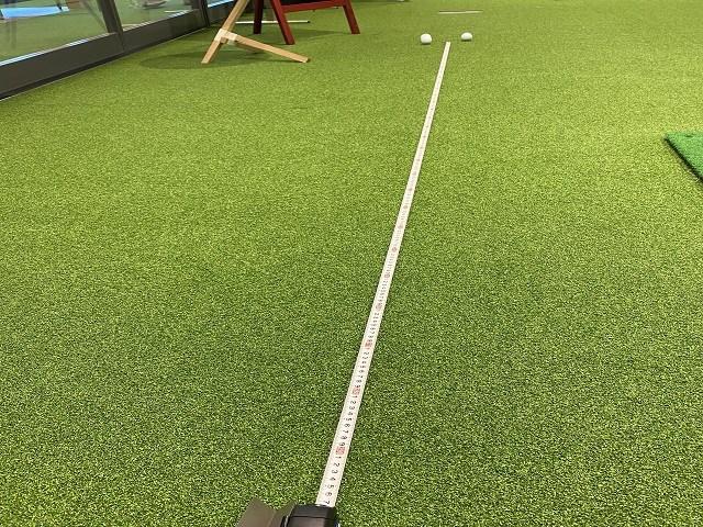 あなたの練習用マットは何フィート?【後編】 「人工芝」は名門コースの速めのグリーン並み
