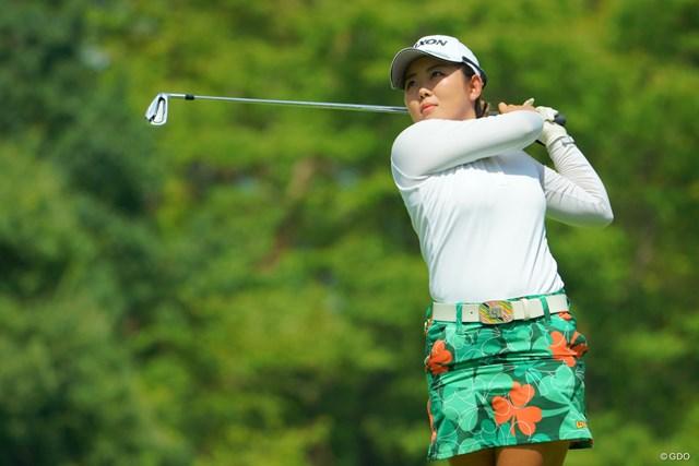 新たなスポンサーと契約を結んだ浅井咲希※撮影は2019年「ゴルフ5レディス」