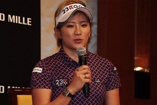2020年 成田美寿々 成田美寿々がスイスの高級時計ブランドのリシャール・ミルと契約した