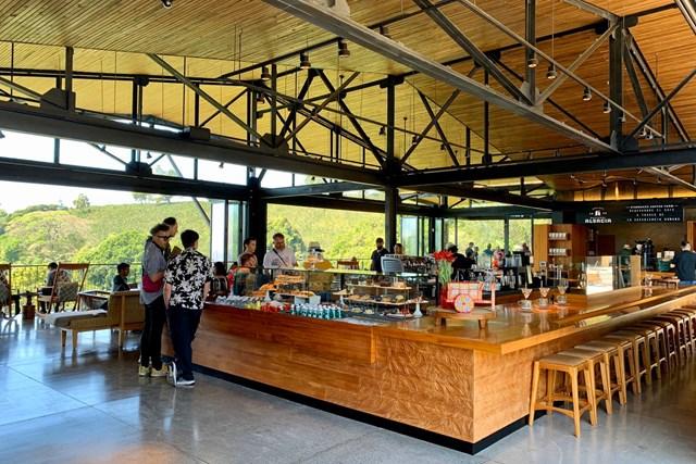 2020年 オマーンオープン 事前 コスタリカのコーヒー農園 農園にはカフェもありました