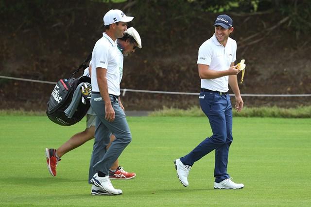 ガッリ(右)とモリナリは同組でプレーした(Warren Little/Getty Images)