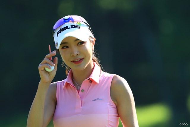 母国・韓国で調整中のアン・シネ(※写真は2019年センチュリー21レディス)