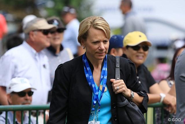通算8度の賞金女王に輝いたアニカ・ソレンスタム(写真は2016年KPMG女子PGA選手権)
