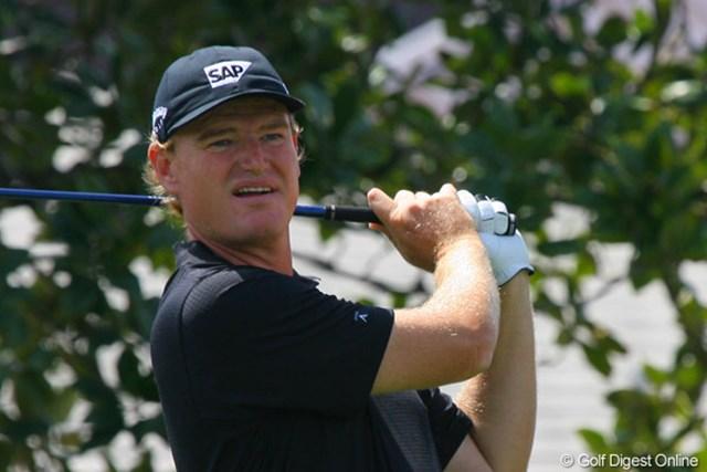 2010年 アーノルド・パーマーインビテーショナル2日目 アーニー・エルス 手堅いゴルフで7アンダー首位タイに浮上したアーニー・エルス