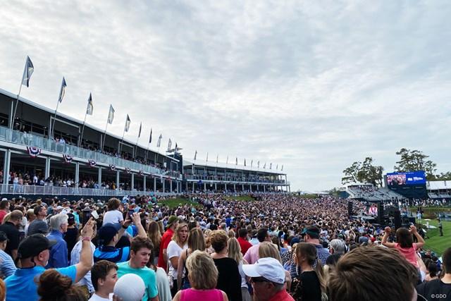2020年 ザ・プレーヤーズ選手権 事前 TPCソーグラス ザ・プレーヤーズ開幕前の恒例のコンサートも決行した