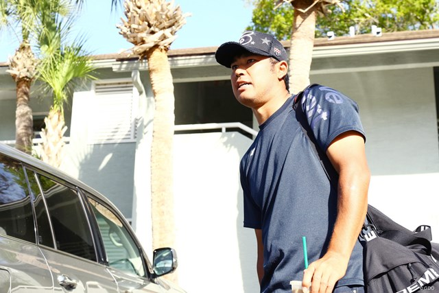 フロリダでマスターズの延期を知った松山英樹
