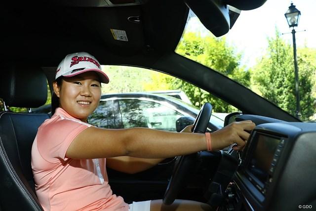 2020年 畑岡奈紗 米国では母・博美さんと生活。車の運転は自分で