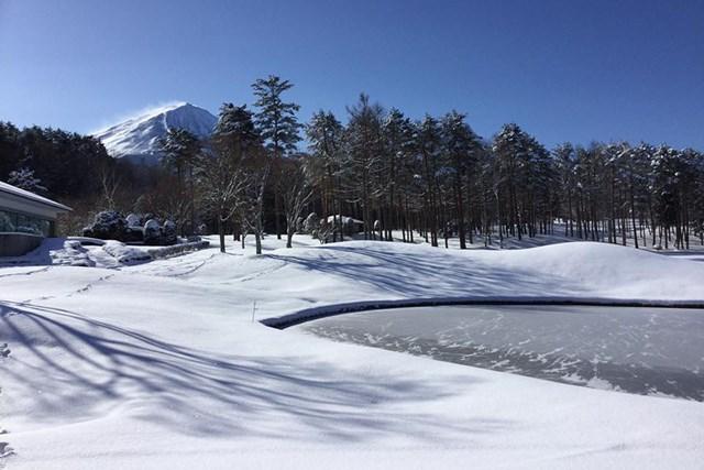 冬季クローズ中の業務を聞いた ※提供:鳴沢ゴルフ倶楽部/2019年2月1日撮影