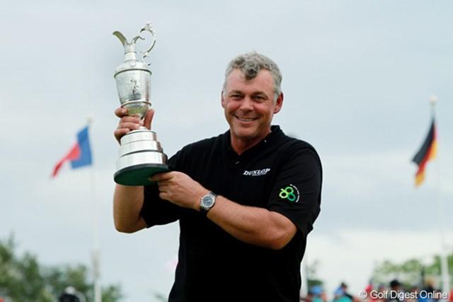 2011年「全英オープン」はD.クラークが制覇。42歳にして初のメジャータイトルだった