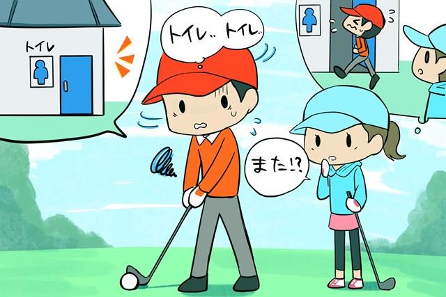 おなかをこわしやすいゴルファーは大腸の「腸活」を