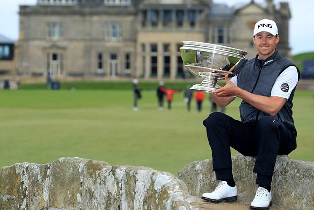 昨年9月の「アルフレッド・ダンヒル リンクス選手権」でツアー初優勝を飾ってから飛躍したビクトル・ペレス(David Cannon/Getty Images)