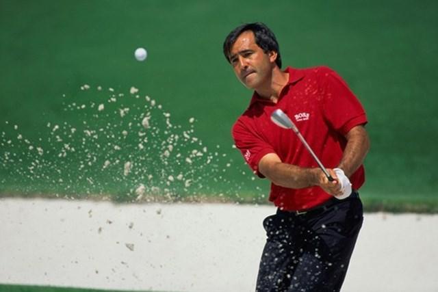 セベ・バレステロス※写真は13年「ボルボワールドマッチプレー選手権 」(Getty Images)