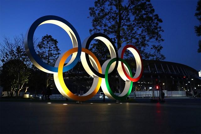 2020年 五輪モニュメント 東京五輪は1年程度延期されることに(Clive Rose/Getty Images)