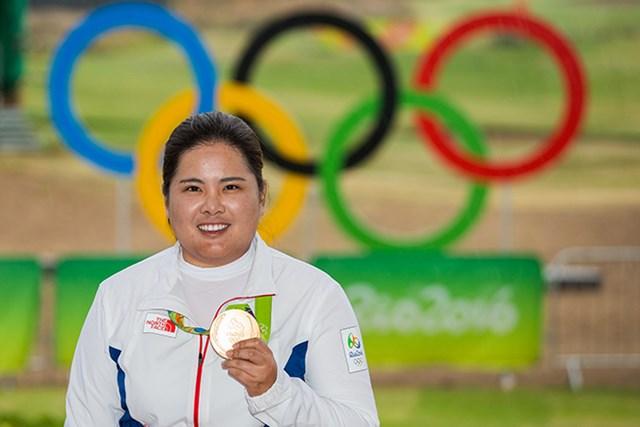 リオデジャネイロ五輪で金メダルを獲得した朴仁妃(photo by IGF)