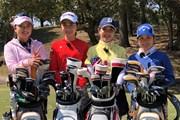 2020年 アクサレディスゴルフトーナメント in MIYAZAKI(中止) 事前 河本結、安田祐香、吉田優利、西村優菜