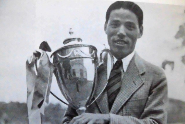 1939年「日本プロ」で優勝し、国内初のグランドスラムを達成した戸田藤一郎