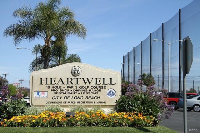ハートウェルGC ウッズが幼少期から訪れたハートウェルGCは町中にある