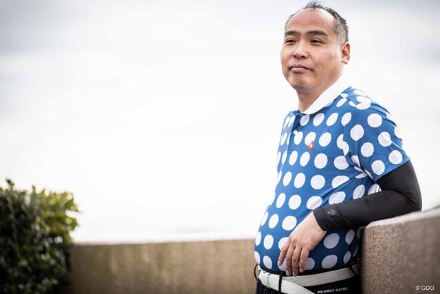 ルコックゴルフ 中川貴雄氏コラボポロシャツ(価格1万2000円+税)