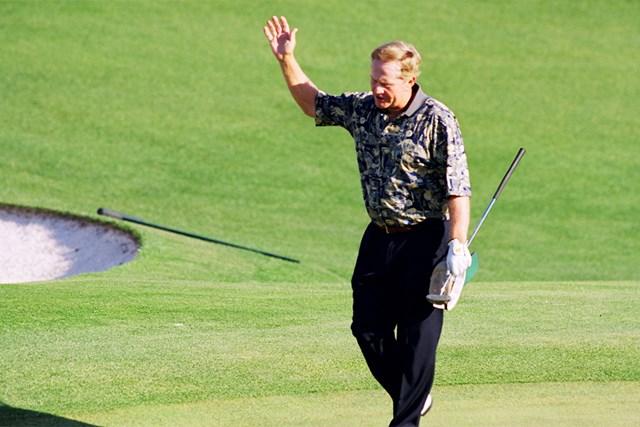 1998年 マスターズ(延期) 事前 ジャック・ニクラス 98年のマスターズを盛り上げたニクラス(Augusta National/Getty Images)