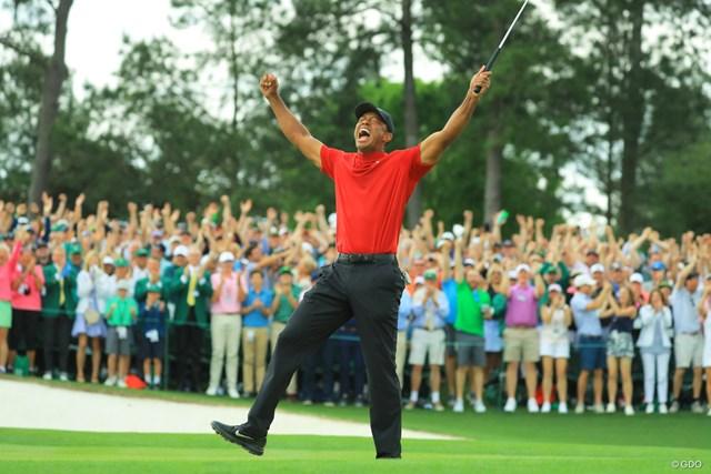 タイガー・ウッズ 完全復活の瞬間。ウッズが11年ぶりのメジャー制覇