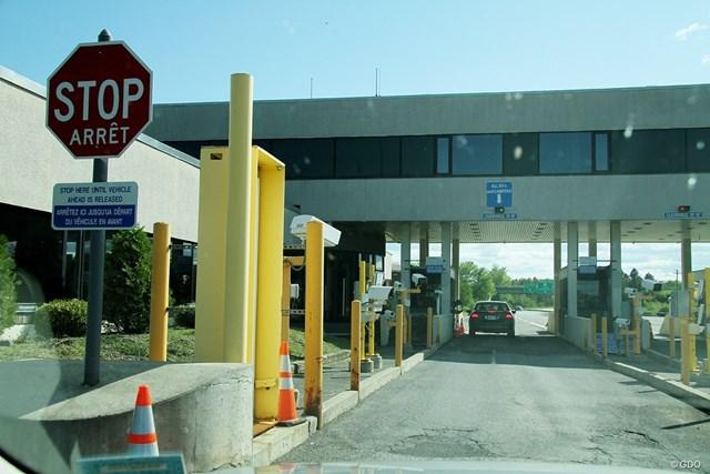 米国とカナダを隔てる国境警備