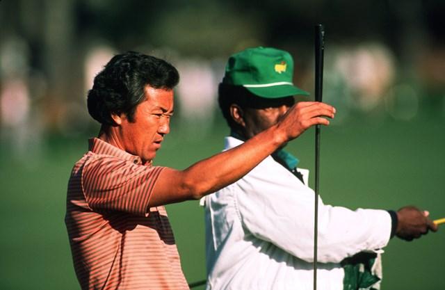 1987年 マスターズ 青木功 青木功のマスターズ12年連続出場は日本人最長記録 (Augusta National/Getty Images)