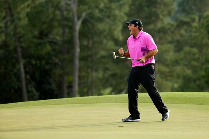 2018年大会を制したパトリック・リード。重圧をはねのけて勝利を掴んだ(Chris Trotman/Augusta National via Getty Images) 2018年 マスターズ 最終日 パトリック・リード
