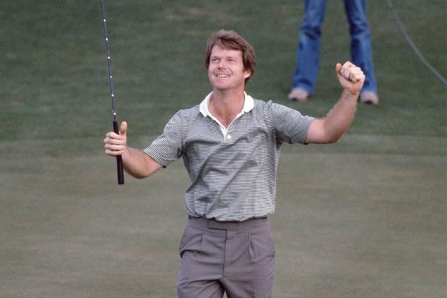 1981年 マスターズ 最終日 トム・ワトソン 1981年、大会2勝目を挙げたトム・ワトソン(Leonard Kamsler/Popperfoto via Getty Images)