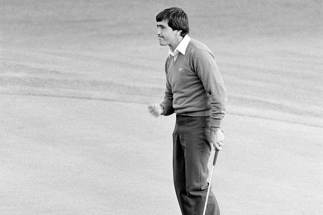 1980年 マスターズ 最終日 セベ・バレステロス 1980年大会王者となったセベ・バレステロス。当時23歳だった(Peter Dazeley/Getty Images)