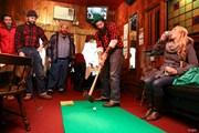バーでゴルフ