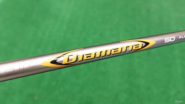 マーベリック ドライバーを筒康博が試打「そもそも打点がズレない」 三菱ケミカルと共同開発した純正シャフト「ディアマナ 50 for Callaway」