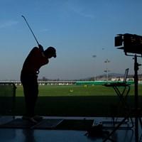 ゴルフが根付いていると感じる取材になった 韓国練習場