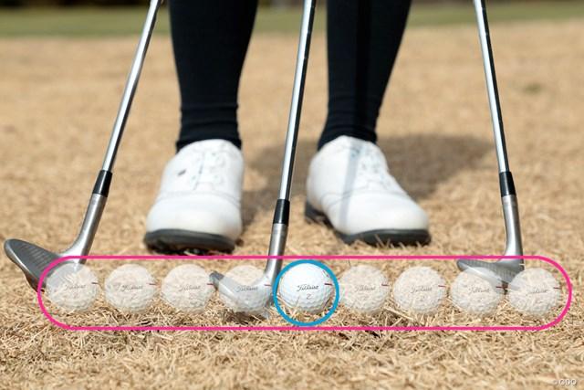 シャンクを防ぐ足裏3点の意識 熊谷かほ 打ち急ぎを抑えることで打点のズレが減る