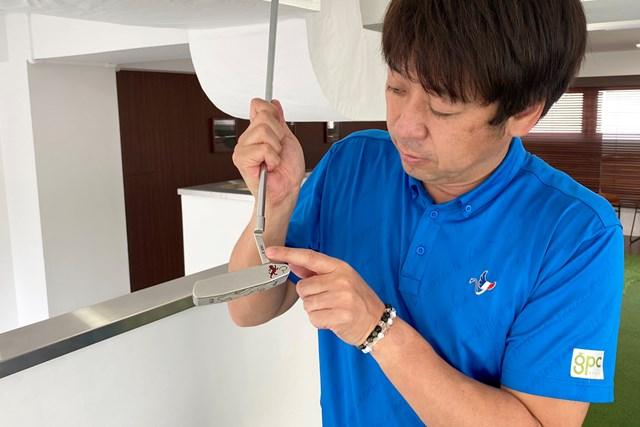 「ヘッド軌道にはフェースの向きが大きく影響します」と大本氏