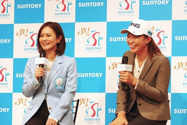 渋野日向子と宮里藍さんがリモートで語り合った