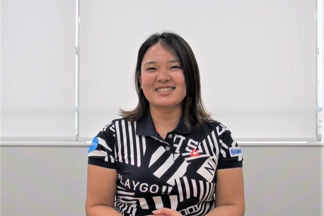 鈴木愛は資格の勉強 サロンパスカップ特別編に渋野らもビデオ出演