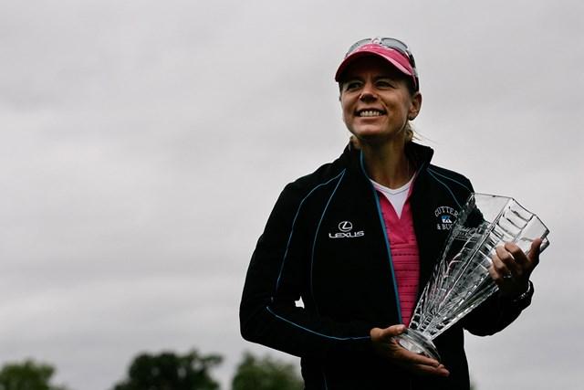 2008年「ミケロブウルトラオープン」 アニカ・ソレンスタム 米ツアー最後の優勝は7打差の圧勝(Hunter Martin/Getty Images)