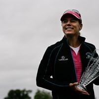 米ツアー最後の優勝は7打差の圧勝(Hunter Martin/Getty Images) 2008年「ミケロブウルトラオープン」 アニカ・ソレンスタム