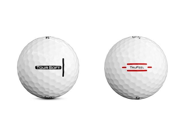 「ツアーソフト ボール」や「トゥルーフィール ボール」とは異なるデザインに