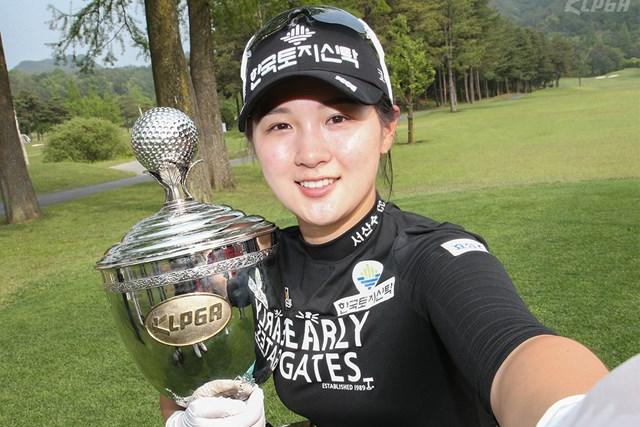優勝したパク・ヒョンギュン(提供KLPGA)